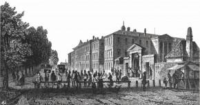Der erste Nordbahnhof, 1838-1865