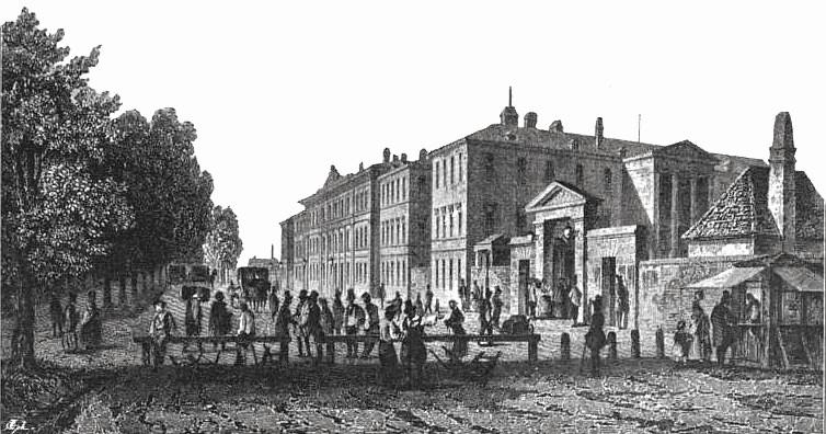 Nordbahnhof, 1838