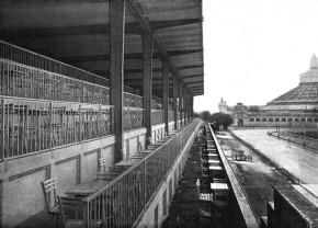 Krieau mit Rotunde, ca. 1911