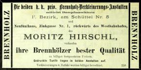 Moritz Hirschl und der Kampf um die Schüttelstraße, 1872