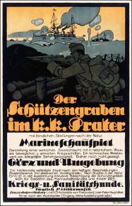 Franz Wacik: Marineschauspiel im Schützengraben, Prater (1916)