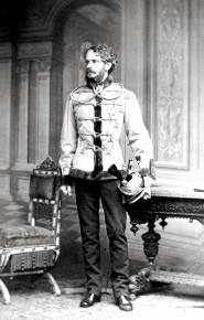 1875, ca. Schüttelstraße 15: Schnitzeljagd mit k.u.k. Außenminister Andrássy