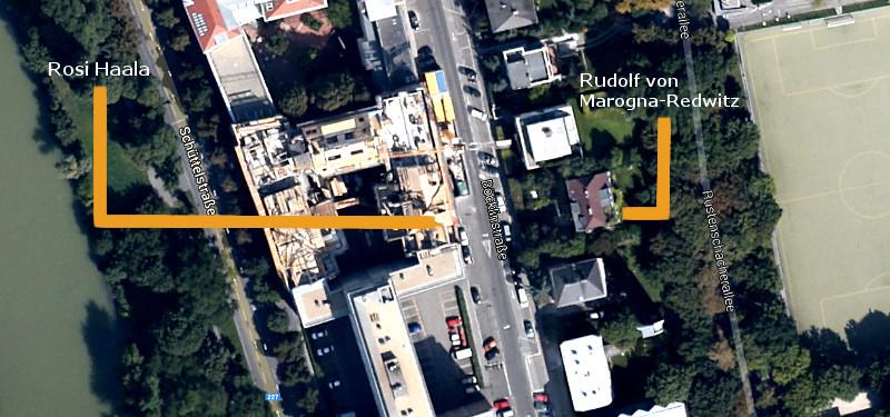 Kartenausschnitt Böcklinstraße