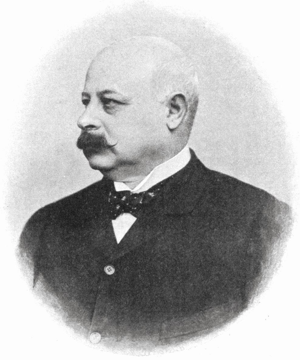 Gustav von Springer, 1902 (Foto: Anton Huber)