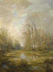 Emil Jakob Schindler (1842-1892): In den Praterauen