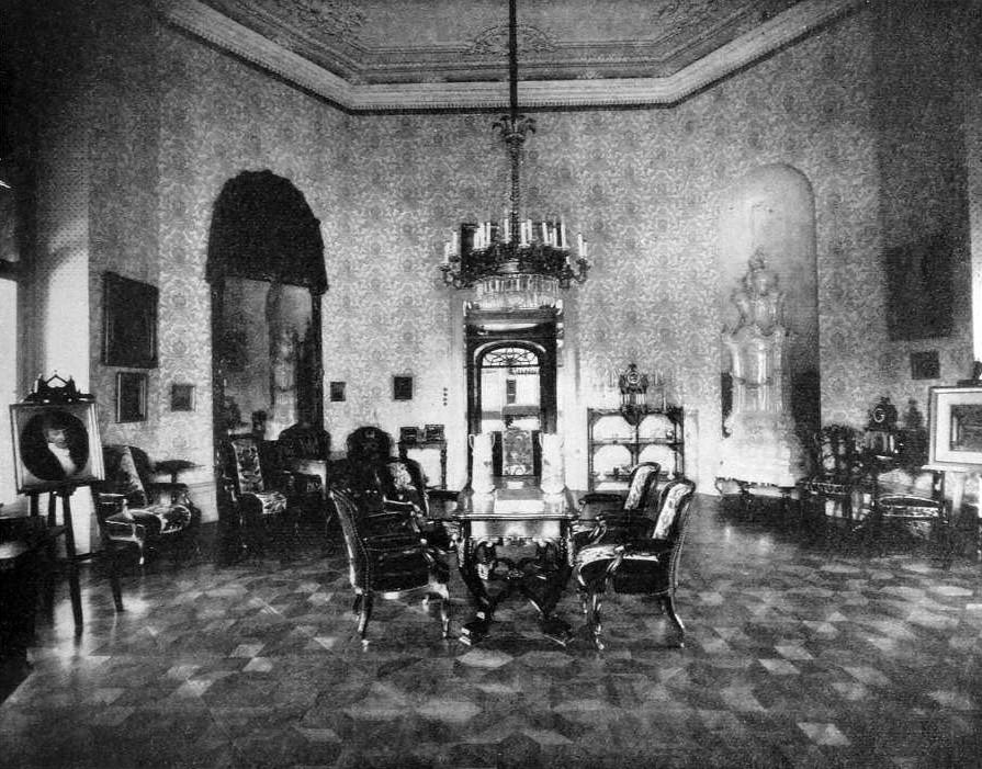 Schloss Vöslau, Moritz von Gutmann, Salon, 1927