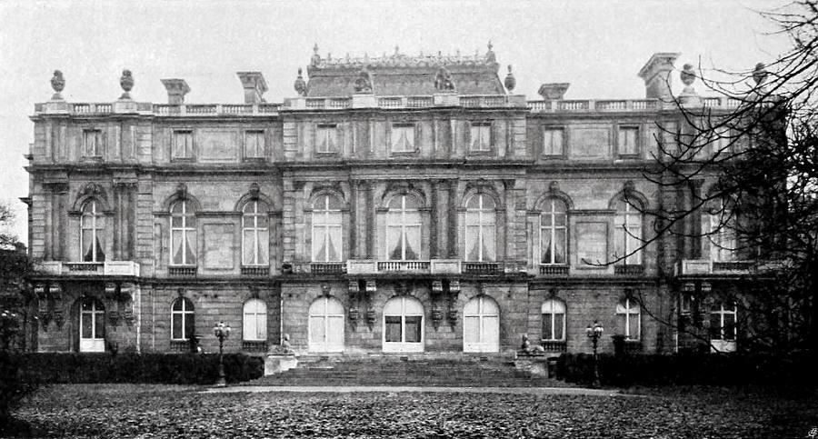 Palais Albert von Rothschild-Gartenfassade