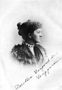 »Der Weltkrieg brach ihr das Herz.« Dorothea Gerard, Böcklinstraße Nr. 53 (und Nr. 86?), ca. 1912-1915