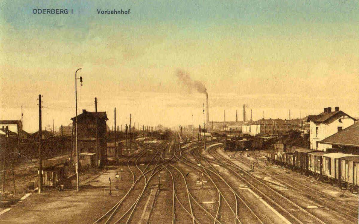 Oderberg 1, Vorbahnhof