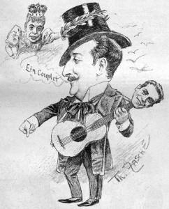 Illustration Oskar Hofmann, 9. April 1898