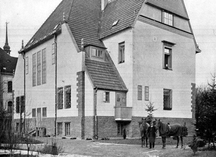 Villa Lanner (später Heriot), 1907