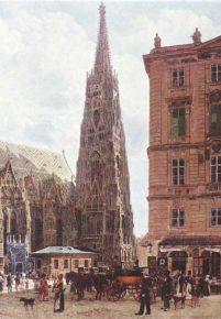 Zwischen Schüttelstraße, Haarmarkt und Stephansplatz, Teil I: 1833