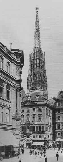 Lazanskyhaus, Stock im Eisen-Platz, 1895