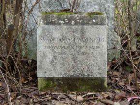 Der Zauberer vom Prater: Grab Sebastian Schwanenfeld, Sankt Marxer Friedhof