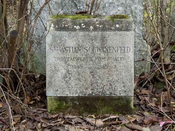 Grab Sebastian Schwanenfeld, Sankt Marxer Friedhof, 2016