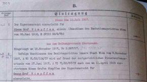 Vorschau auf: Simon von Wimpffen erwirbt die Villa Böcklinstraße 49