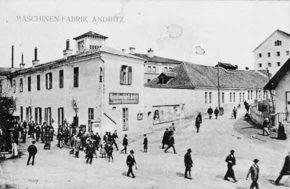 Die Maschinenfabrik Andritz Actiengesellschaft, 1912/13